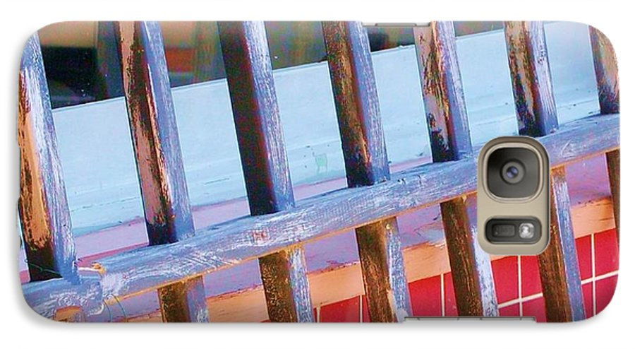 Gate Galaxy S7 Case featuring the photograph Reflections by Debbi Granruth