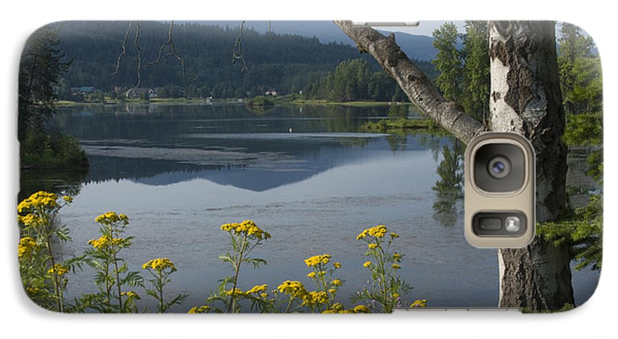 Landscape Galaxy S7 Case featuring the photograph Reflections Of Summer by Idaho Scenic Images Linda Lantzy