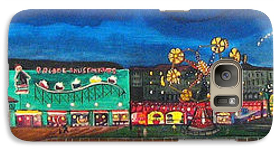 Asbury Art Galaxy S7 Case featuring the painting Remember When by Patricia Arroyo