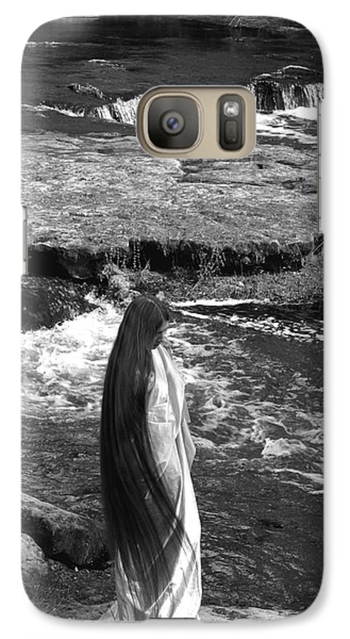 Woman Galaxy S7 Case featuring the photograph Return To The Falls by Debbie May