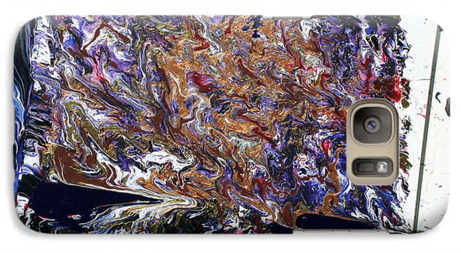 Fusionart Galaxy S7 Case featuring the painting Revolution by Ralph White