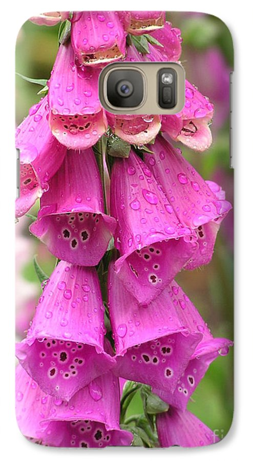 Fox Glove Galaxy S7 Case featuring the photograph Ringing Bells by Louise Magno