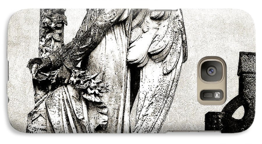 Ireland Galaxy S7 Case featuring the photograph Roscommon Angel No 1 by Teresa Mucha