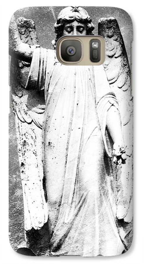 Roscommon Galaxy S7 Case featuring the photograph Roscommon Angel No 2 by Teresa Mucha