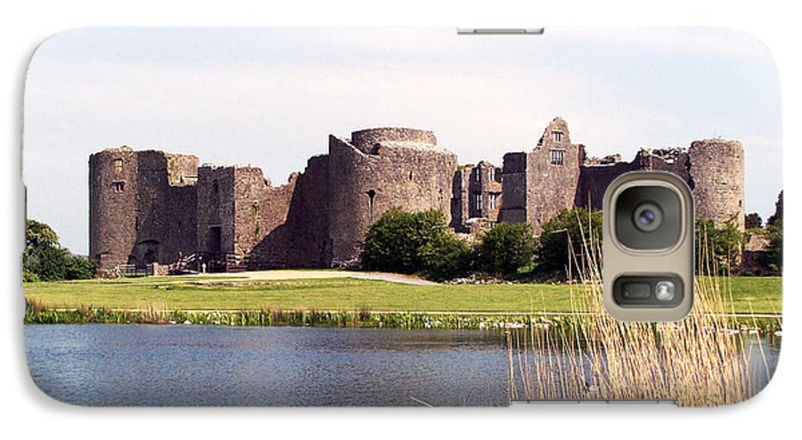 Roscommon Galaxy S7 Case featuring the photograph Roscommon Castle Ireland by Teresa Mucha