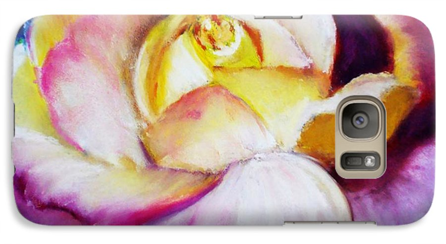 Rose Galaxy S7 Case featuring the print Rose by Melinda Etzold