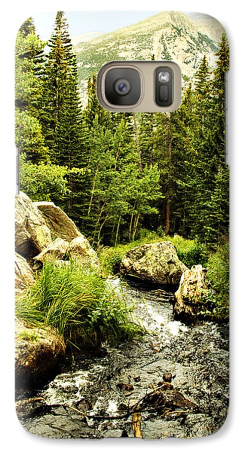 Colorado Galaxy S7 Case featuring the photograph Running River by Marilyn Hunt