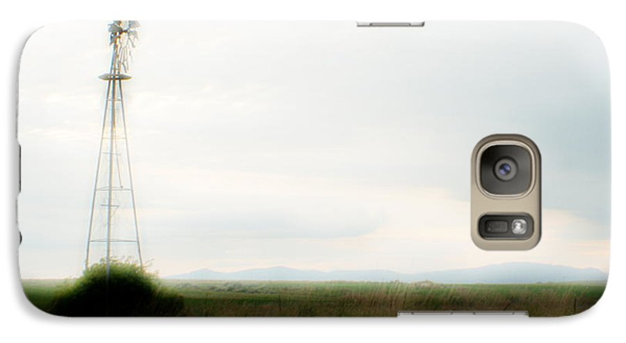 Dream Galaxy S7 Case featuring the photograph Rural Daydream by Idaho Scenic Images Linda Lantzy
