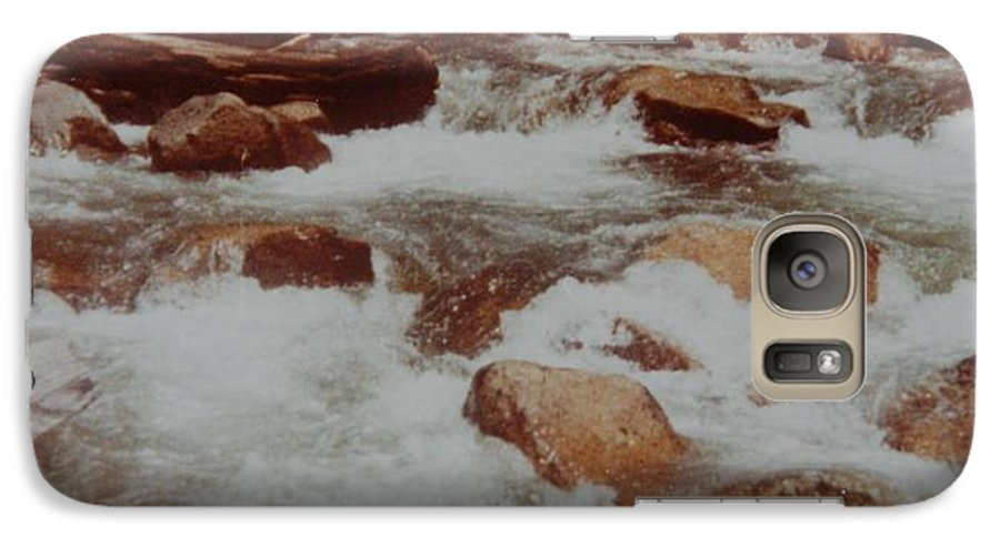 Water Galaxy S7 Case featuring the photograph Rushing Water by Rob Hans