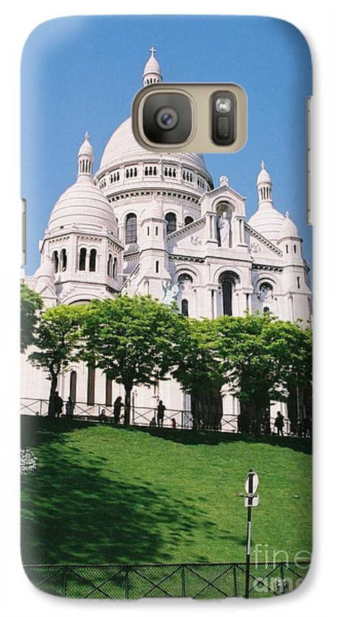 Church Galaxy S7 Case featuring the photograph Sacre Coeur by Nadine Rippelmeyer