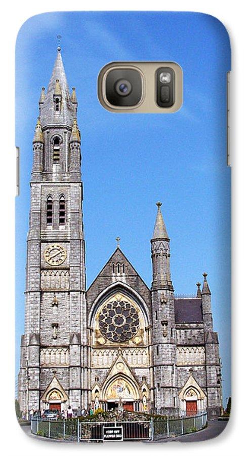 Ireland Galaxy S7 Case featuring the photograph Sacred Heart Church Roscommon Ireland by Teresa Mucha