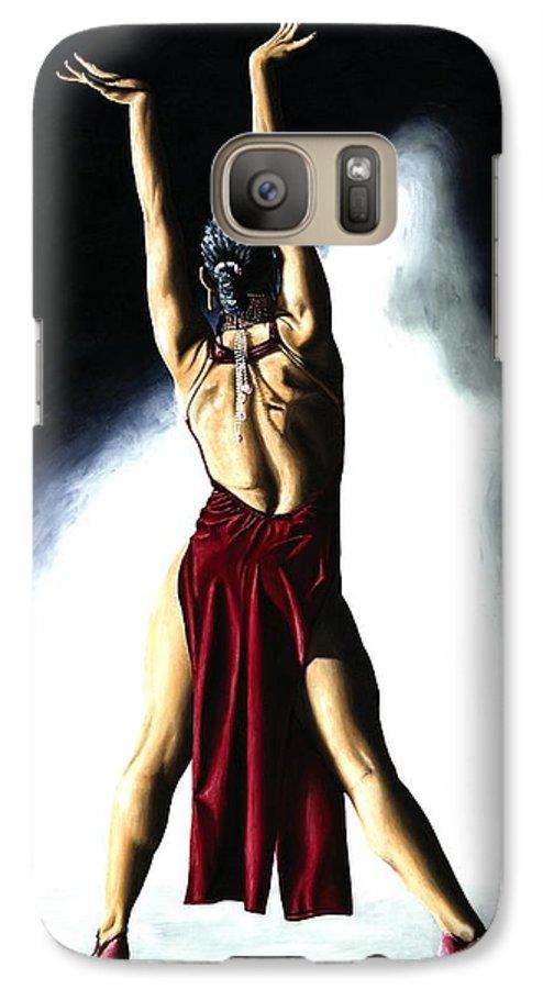 Samba Galaxy S7 Case featuring the painting Samba Celebration by Richard Young