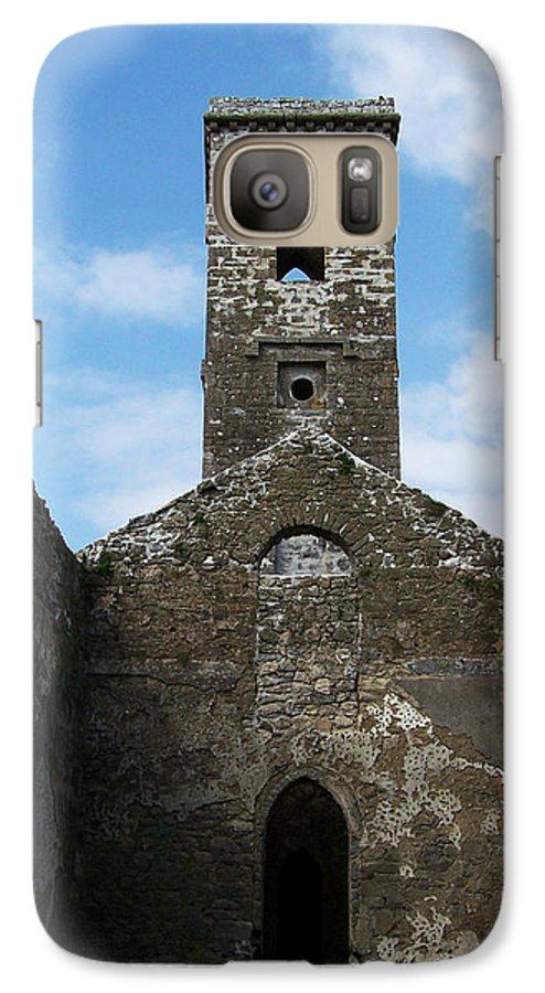 Ireland Galaxy S7 Case featuring the photograph Sanctuary Fuerty Church Roscommon Ireland by Teresa Mucha