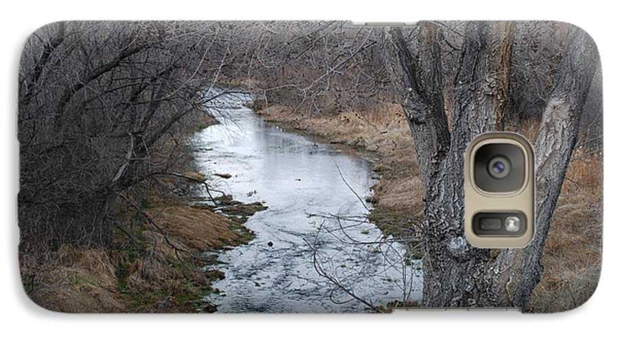 Santa Fe Galaxy S7 Case featuring the photograph Santa Fe River by Rob Hans