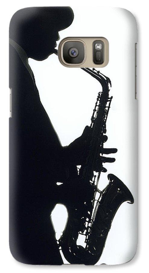 Sax Galaxy S7 Case featuring the photograph Sax 2 by Tony Cordoza