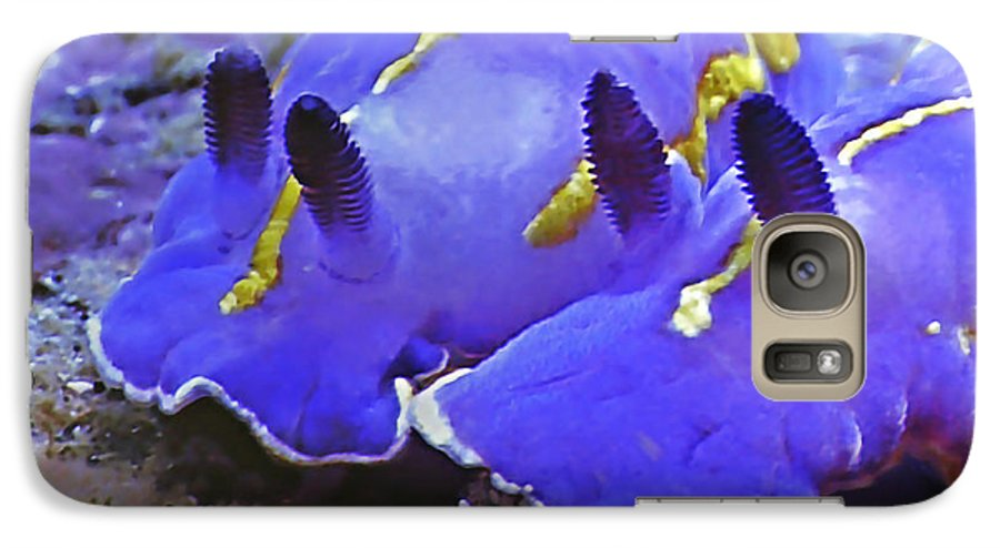 Ocean Galaxy S7 Case featuring the photograph Sealife Underwater Snails by Christine Till