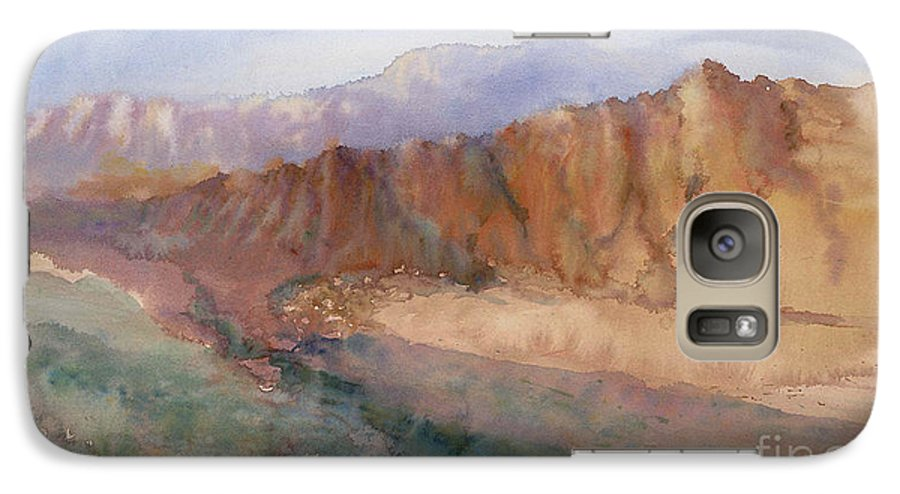 Sedopn Galaxy S7 Case featuring the painting Sedona by Ann Cockerill