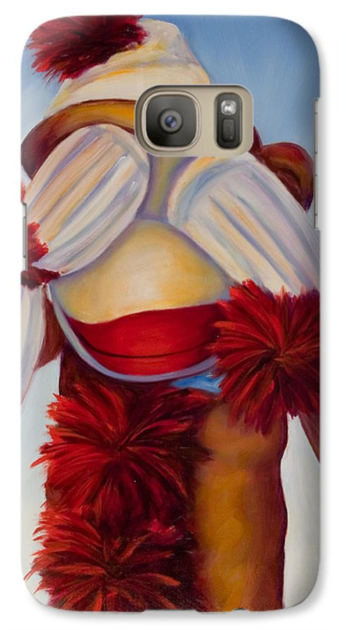 Children Galaxy S7 Case featuring the painting See No Bad Stuff by Shannon Grissom