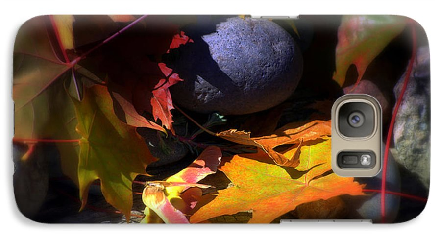 Leaves Galaxy S7 Case featuring the photograph Seed by Larry Keahey