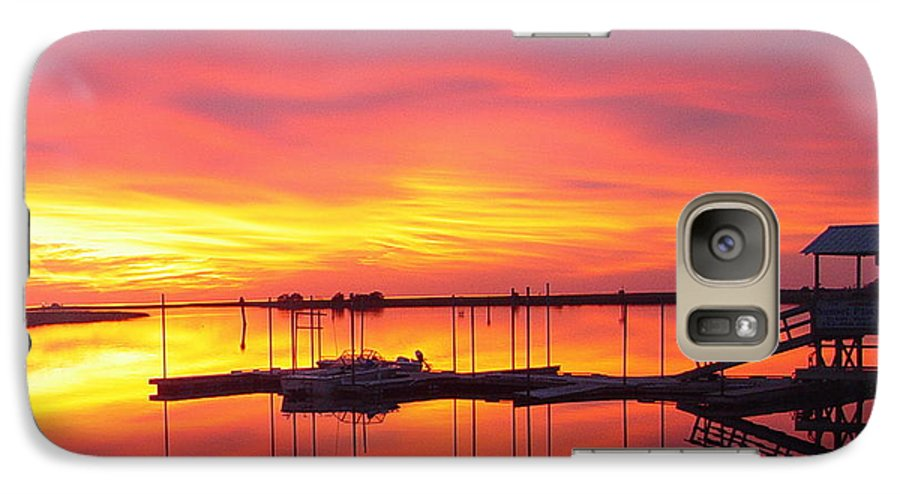 Sunsets Galaxy S7 Case featuring the photograph Seeing Is Believing by Debbie May