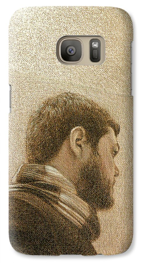 Galaxy S7 Case featuring the painting Self by Joe Velez