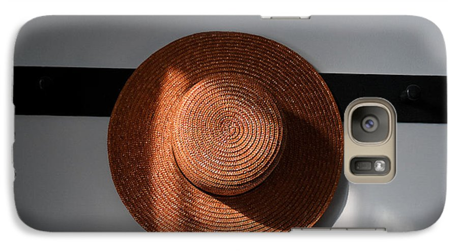 Shaker Galaxy S7 Case featuring the photograph Shaker Hat by Lone Dakota Photography