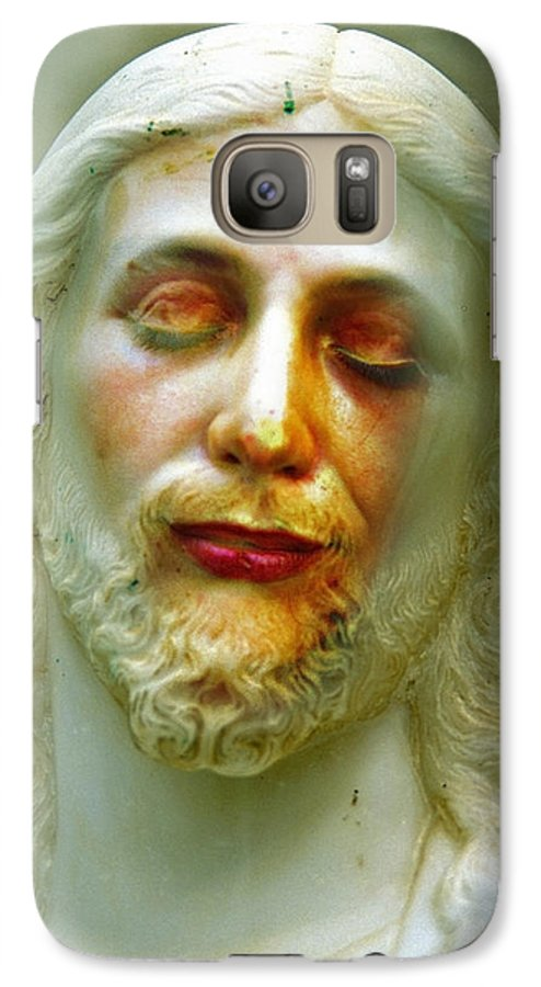 Jesus Galaxy S7 Case featuring the photograph Shesus by Skip Hunt