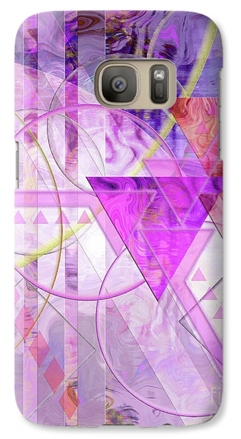 Shibumi Galaxy S7 Case featuring the digital art Shibumi Spirit by John Beck