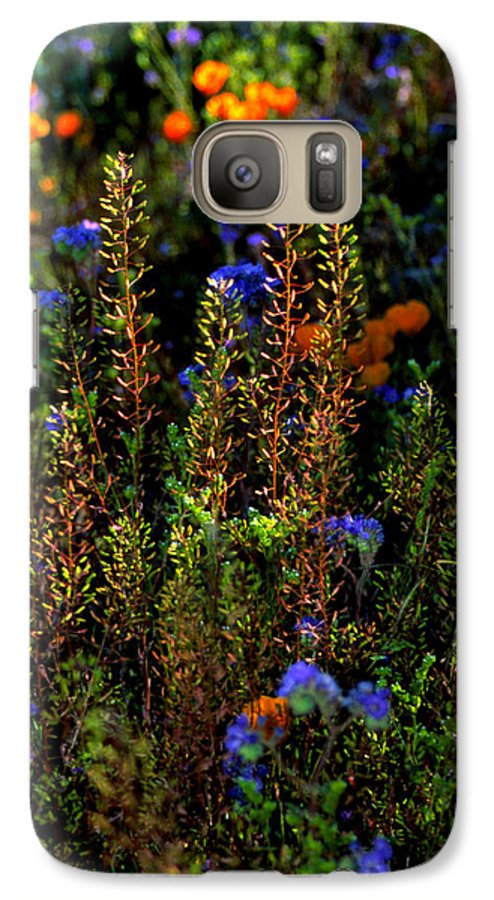Flowers Galaxy S7 Case featuring the photograph Shimmers by Randy Oberg