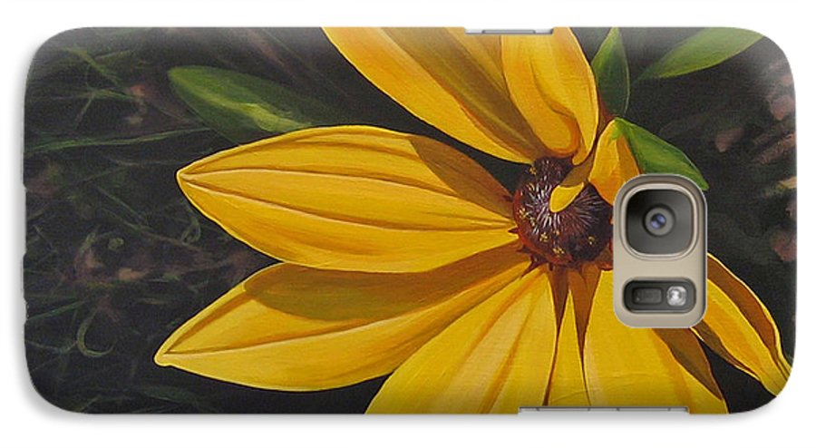 Wildflower Galaxy S7 Case featuring the painting Sign Of Summer by Hunter Jay