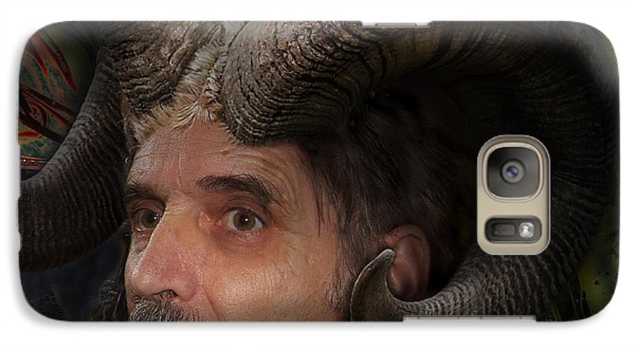 Surrealism Galaxy S7 Case featuring the digital art Silenus by Otto Rapp