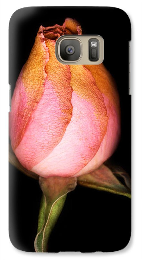 Rose Galaxy S7 Case featuring the photograph single Rose by Marilyn Hunt