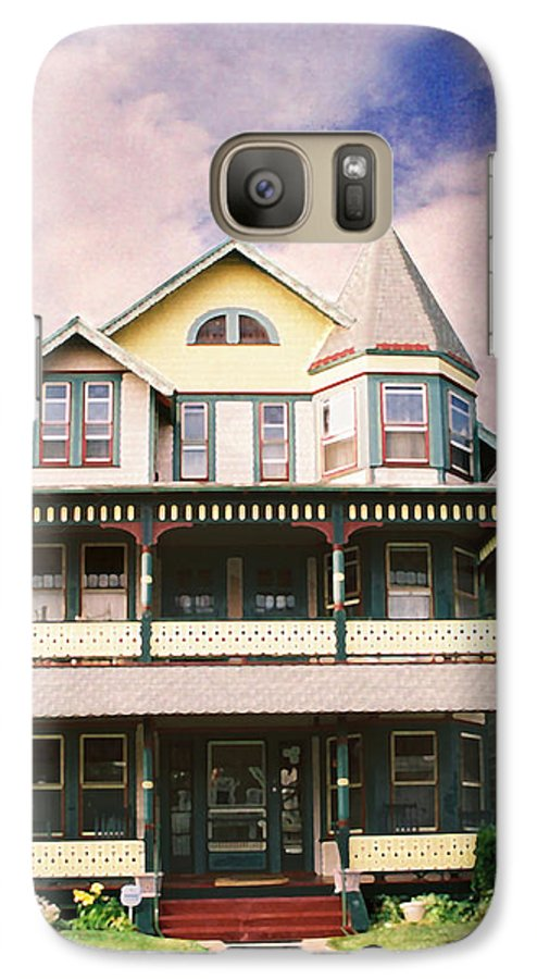 Landscape Galaxy S7 Case featuring the photograph Sisters Panel Three Of Triptych by Steve Karol