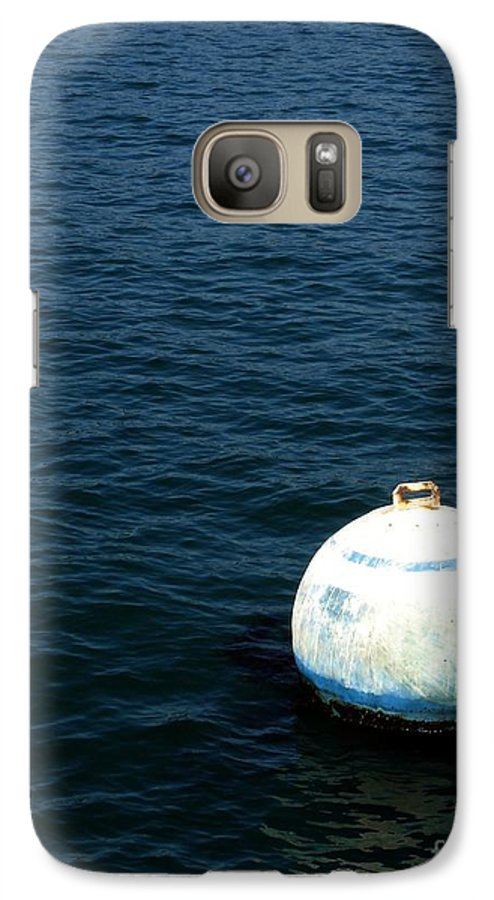 Seascape Galaxy S7 Case featuring the photograph Sit And Bounce by Shelley Jones