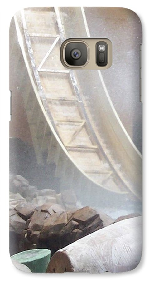 Slide Galaxy S7 Case featuring the photograph Slide Splash by Pharris Art