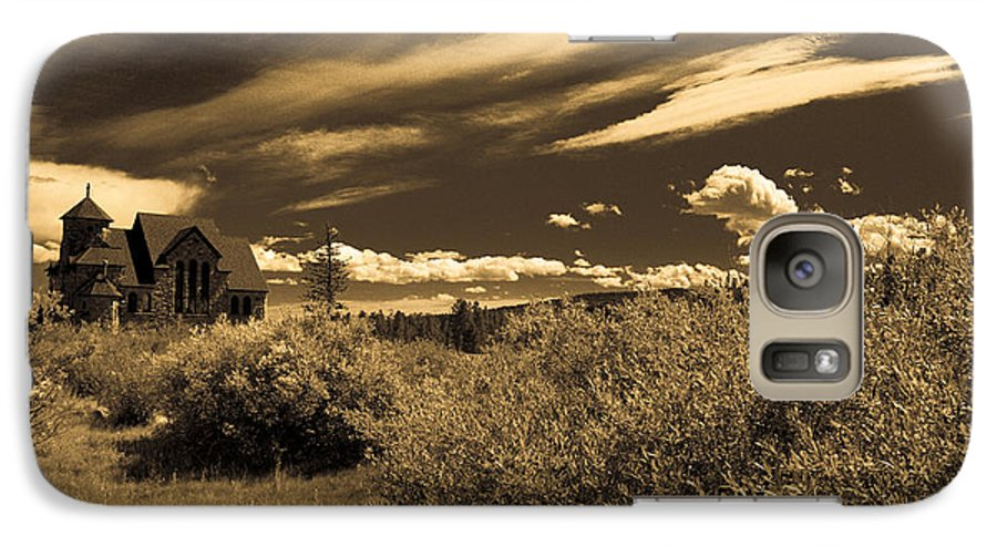 Church Galaxy S7 Case featuring the photograph Small Town Church by Marilyn Hunt
