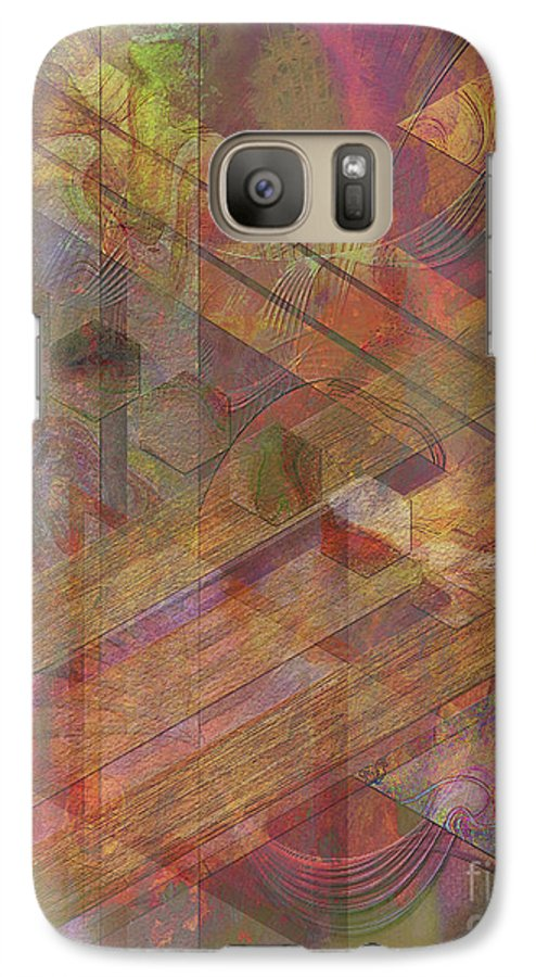 Soft Fantasia Galaxy S7 Case featuring the digital art Soft Fantasia by John Beck