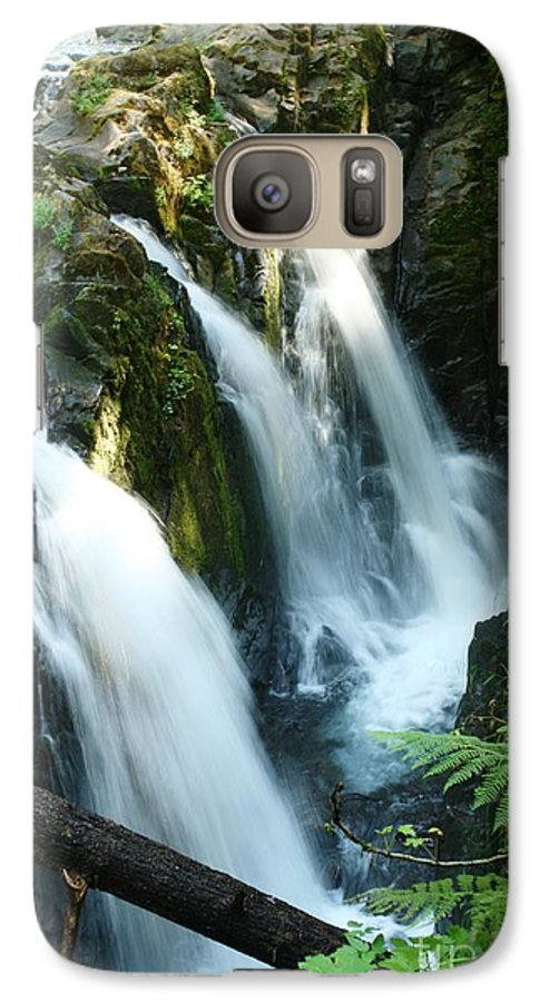 Waterfall Galaxy S7 Case featuring the photograph Sol Duc Falls by Idaho Scenic Images Linda Lantzy