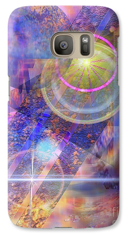 Solar Progression Galaxy S7 Case featuring the digital art Solar Progression by John Beck
