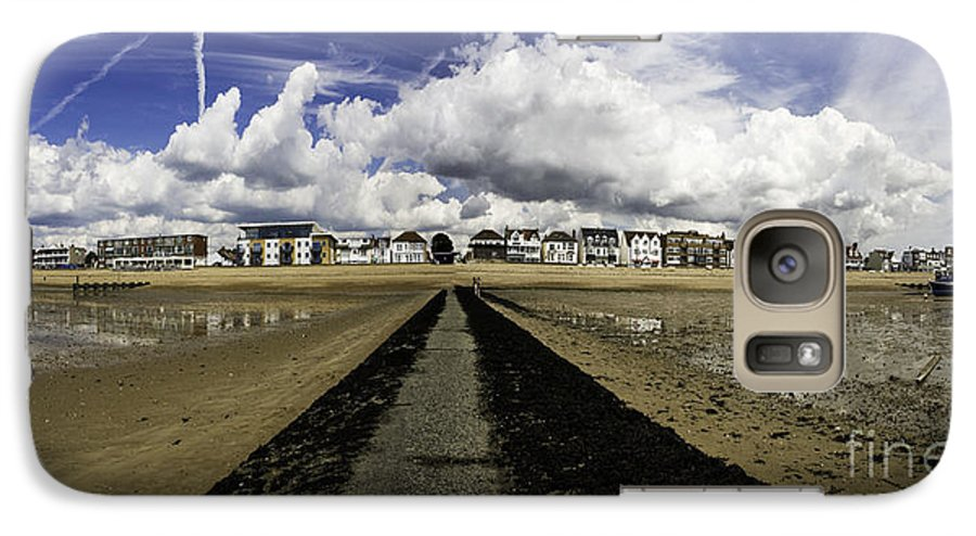 Southend On Sea Galaxy S7 Case featuring the photograph Southend On Sea Panorama by Sheila Smart Fine Art Photography