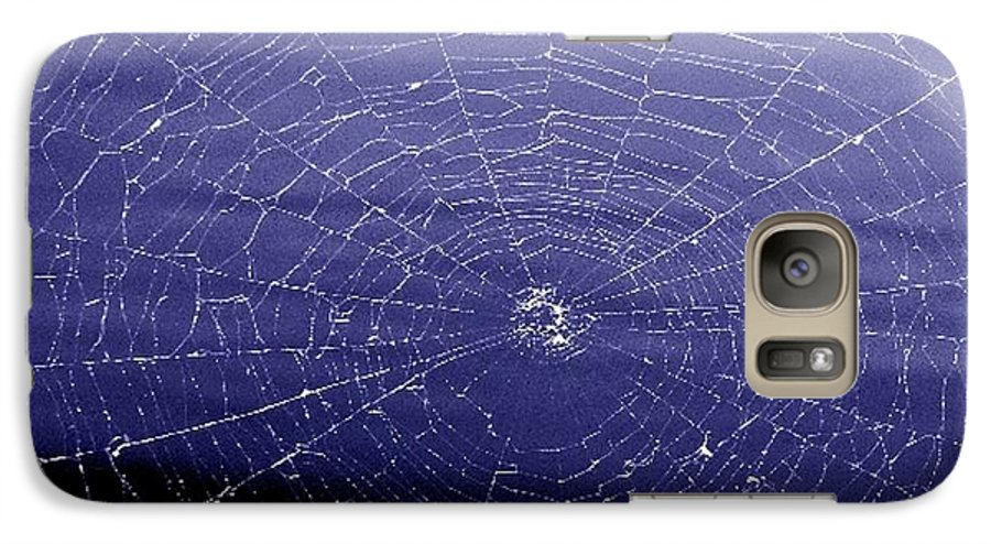 Web Galaxy S7 Case featuring the digital art Spiderweb by Kenna Westerman