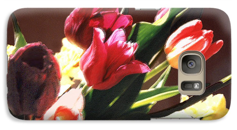 Floral Still Life Galaxy S7 Case featuring the photograph Spring Bouquet by Steve Karol