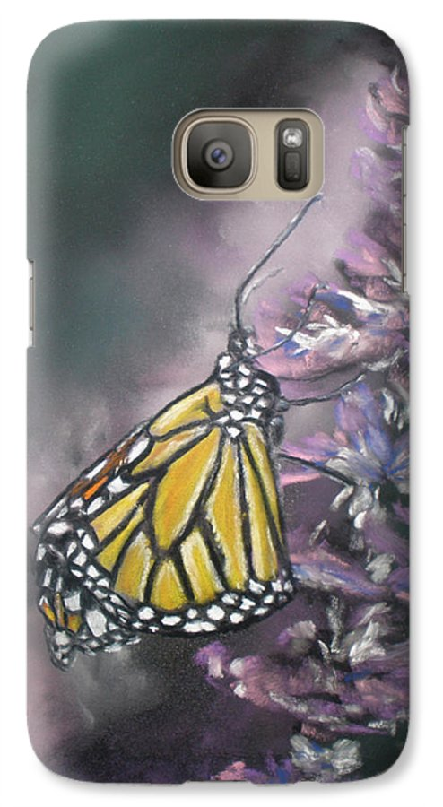 Spring Galaxy S7 Case featuring the painting Spring by Cathy Weaver