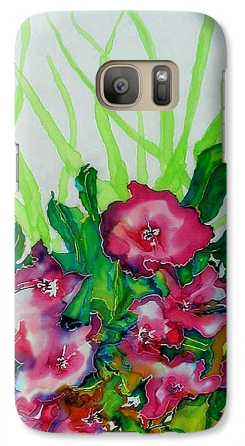 Flora Galaxy S7 Case featuring the painting Spring Celebration 1 by Ferril Nawir