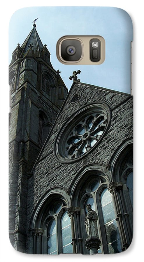 Ireland Galaxy S7 Case featuring the photograph St. Mary's Of The Rosary Catholic Church by Teresa Mucha