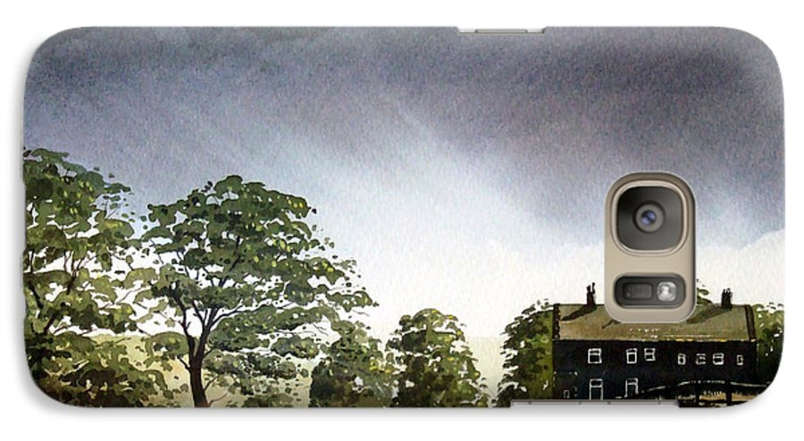 Landscape Galaxy S7 Case featuring the painting Stainland Dean by Paul Dene Marlor