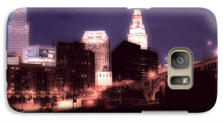 Cleveland Galaxy S7 Case featuring the photograph Standing Tall by Kenneth Krolikowski