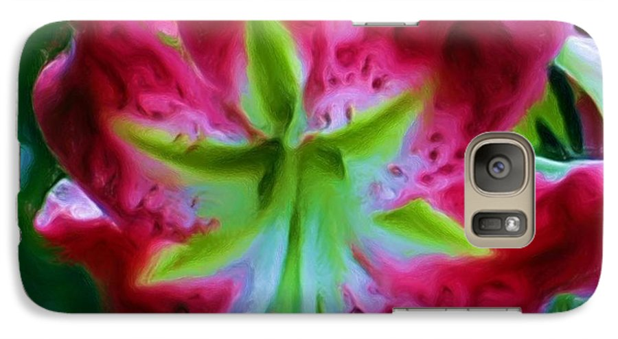 Fine Art Photography Galaxy S7 Case featuring the photograph Stargazer by Patricia Griffin Brett