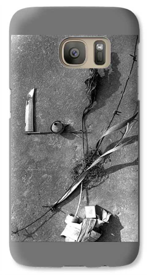 Still Life Galaxy S7 Case featuring the photograph Still Forms by Ted M Tubbs