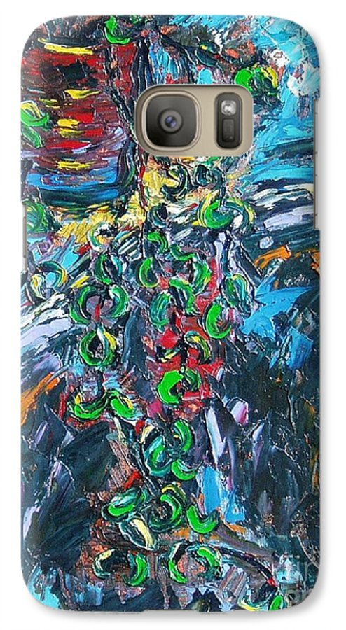 Abstract Paintings Galaxy S7 Case featuring the painting Still Life by Seon-Jeong Kim